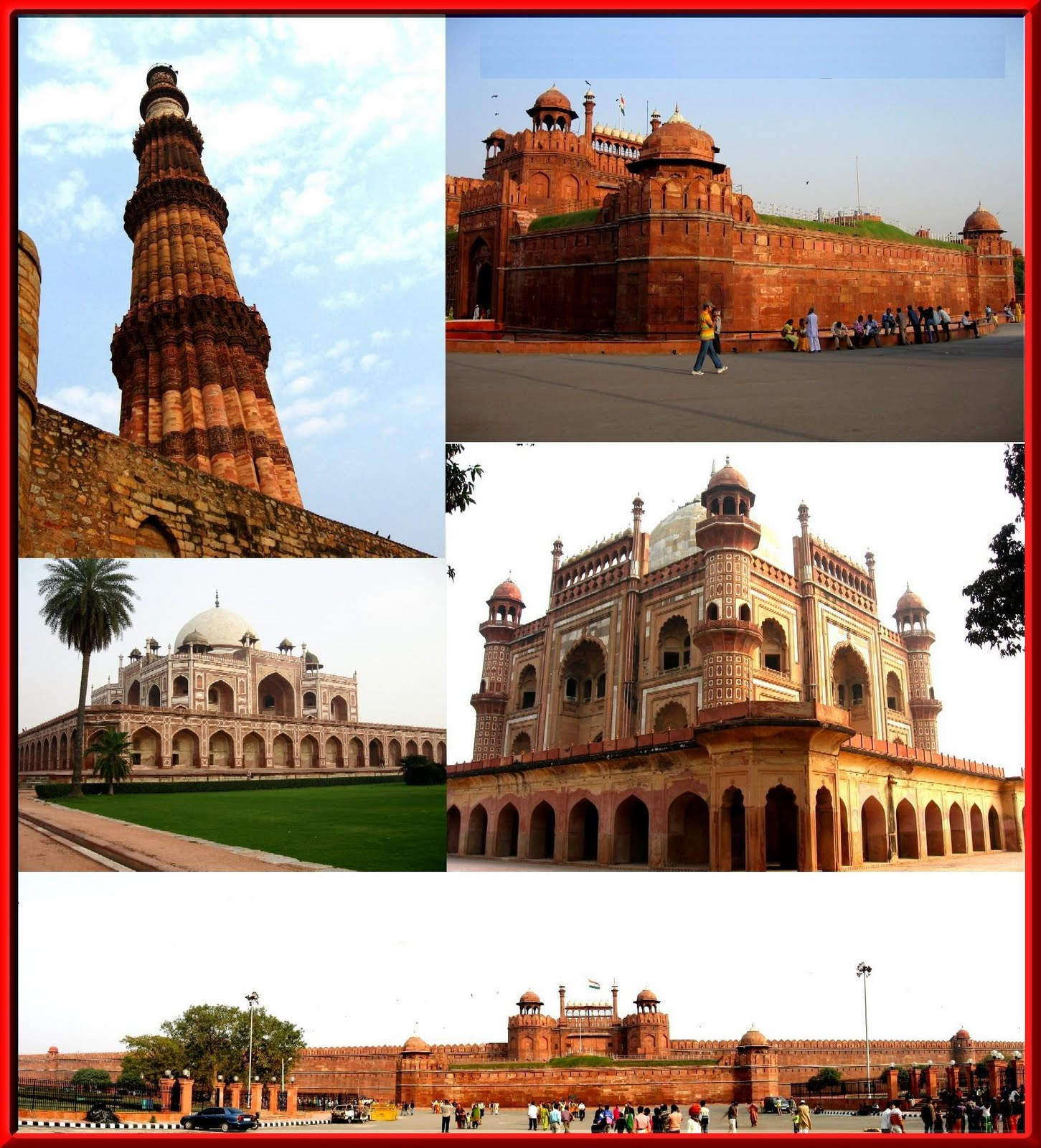 monuments of india information Delhi is capital of india , has a very colorful culture and history best 10 historical monuments helps make the city a perfect tourist place.