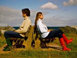 lonely-couple 9 Signs You Have Been Trapped In Your Relationship!