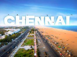 A view of Chennai, India