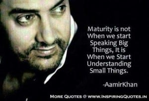 Aamir Khan Quotes Famous Quotes Thoughts Sayings By Actor Aamir Khan