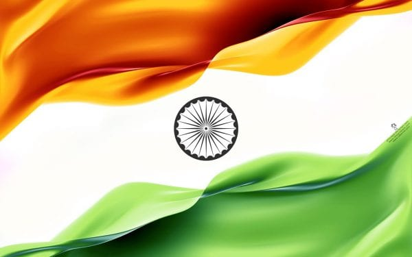 Flower With Indian Flag Hd: Evolution Of Indian National Flag