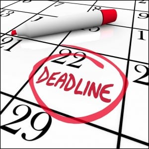 deadline2 5 Signs of Chronic Procrastination - The Circle that Never Ends