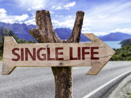 Single life sign board