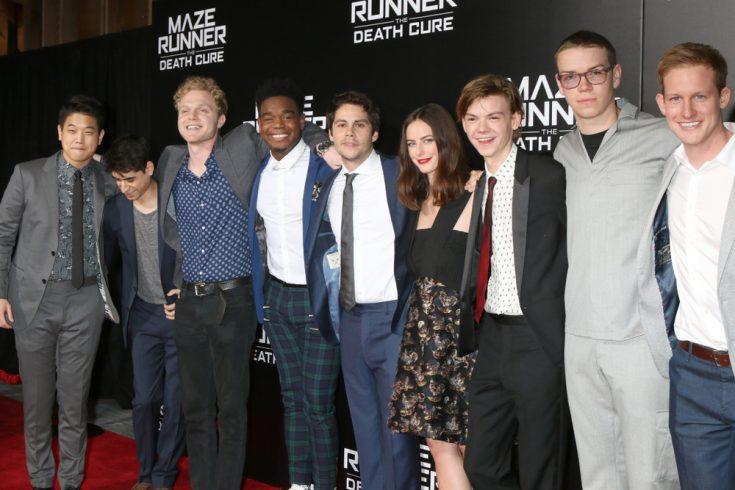 Cast of The Maze Runner