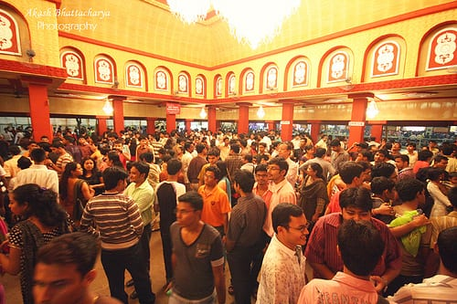 9 Kinds Of People You Encounter In A Puja Pandal. Puja Pandal