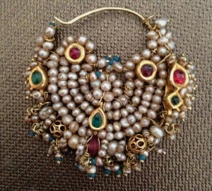Antique Indian Nose Jewellery indian brides