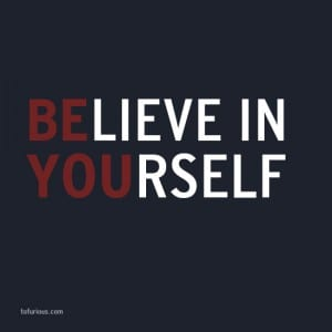 Believe-in-Yourself rejection
