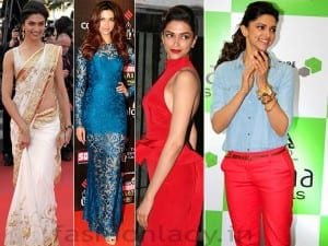 Deepika Padukone is always a bomb in every outfit. Try different and fashionable clothes and show it off!