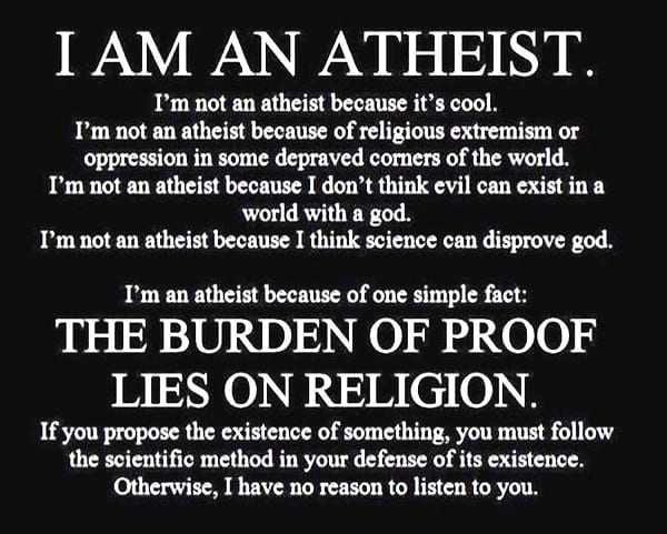 Why i am an athesist