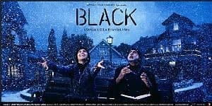 BLACK -the movie poster