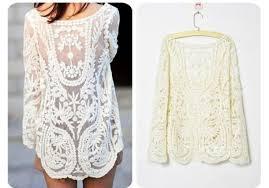 Doesn't this lace dress attract you so much that you wish you could buy it right now? Not just on the hanger, but such lace material dresses and tops will look sexier when worn.