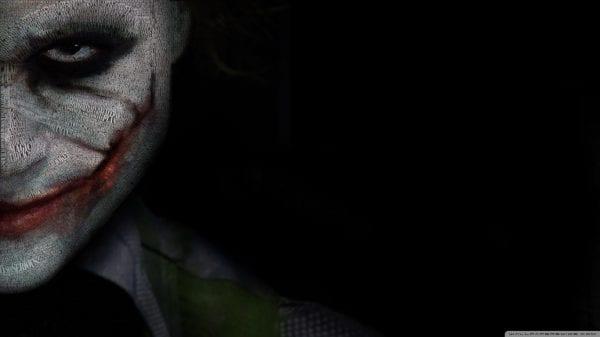 Revealing the Smile- Heath Ledger as the Joker joker