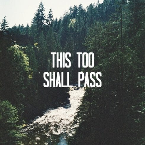 Poetry: This Too Shall Pass 1