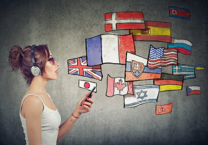 Woman who can speak multiple languages