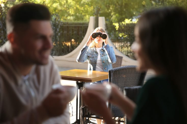 Girlfriend obsessing over her boyfriend
