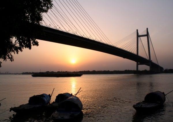 Princep-Ghat-sunset-kolkata