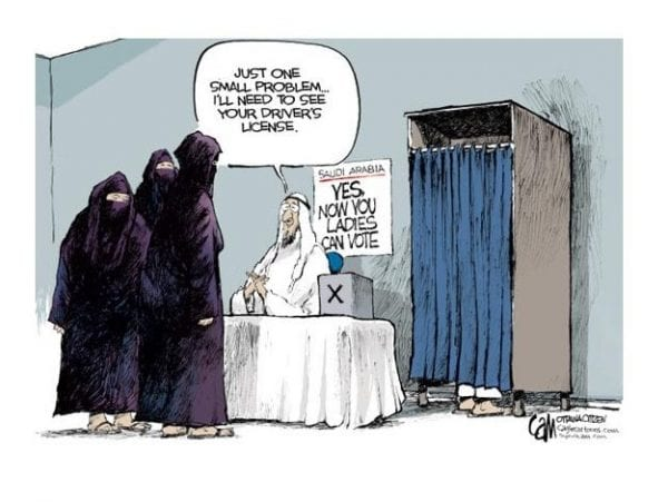 Saudi Women's New-found Right to Electoral Equality - Will It Really Change Anything? 7