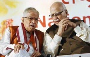 advani-joshi Kirti Azad Suspended from BJP