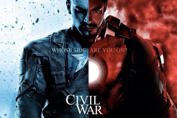 Reasons to Watch: Captain America – Civil War! civil war