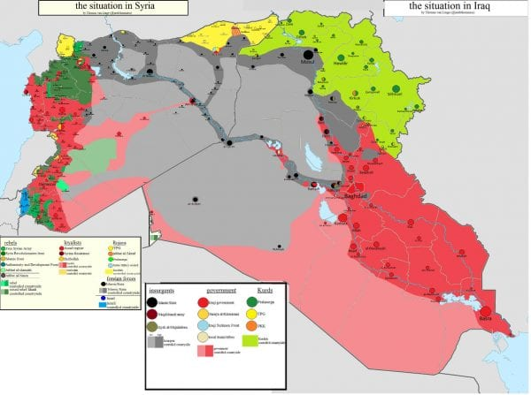 the downfall of the islamic state in iraq and syria Four years ago, the islamic state of iraq and the levant group (isil, also  of  isil's quick territorial victories and defeats in iraq and syria.