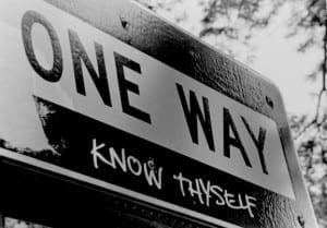 one way know thyself