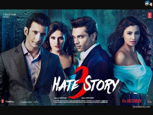 Movie Review: Hate Story 3 hate story 3