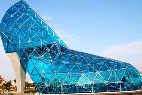 Church Dedicated to Women in the Shape of a High-heel Shoe! 15