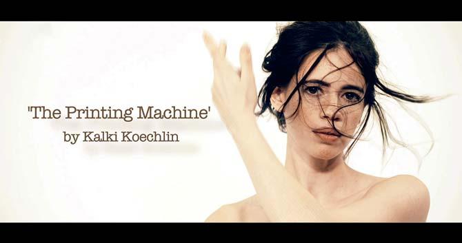 Kalki-Koechlin-1 printing machine