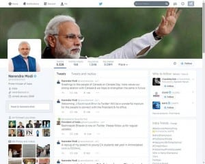 Modi-Twitter modi