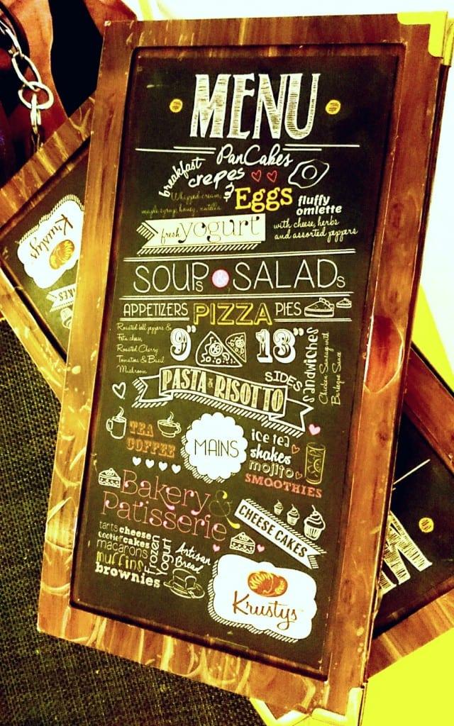 Menu Card restaurant review