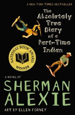 'I think the world is a series of broken dams and floods, and my cartoons are tiny little lifeboats' - The Absolutely True Diary of a Part-time Indian by Sherman Alexie