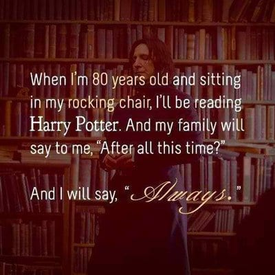 "Yes, Professor Snape Will ""ALWAYS"" Be Our Favorite. Here's Why. snape"