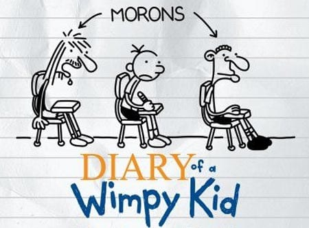 'You can't expect everyone to have the same dedication as you' –Diary of a Wimpy Kid by Jeff Kinney