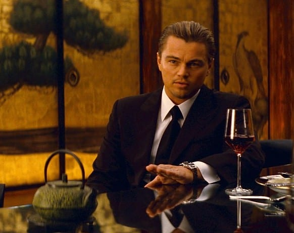 LEONARDO DiCAPRIO as Cobb in Warner Bros. PicturesÕ and Legendary PicturesÕ sci-fi action film ÒINCEPTION,Ó a Warner Bros. Pictures release.
