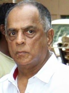 Indian Bollywood film producer and present Chairperson of the Central Board, Pahlaj Nihalani attends the funeral of the late Bollywood music composer and singer Aadesh Shrivastava in Mumbai on September 5, 2015. AFP PHOTO (Photo credit should read STR/AFP/Getty Images) Netflix