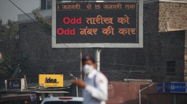 Odd Even formula: Control Delhi's pollution A new measure to control Delhi's pollution: Odd even formula