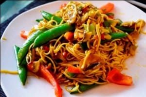 singapore-noodles-11 Top 6 countries for Vegetarians in the world