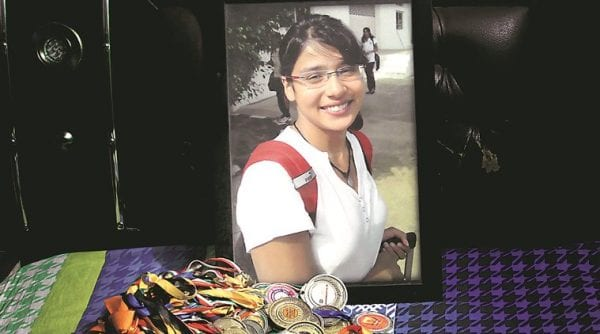 16-Year National Swimmer Commits Suicide A 16 year old National swimmer commits suicide