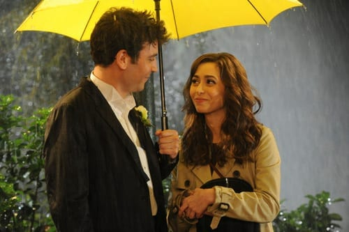 """Last Forever Parts One and Two"" —Ted finally finishes telling his kids the story of how he met their mother, on the special one-hour series finale of HOW I MET YOUR MOTHER, Monday, March 31 (8:00-9:00 PM, ET/PT) on the CBS Television Network. Pictured: Josh Radnor as Ted, Cristin Milioti as Tracy. Photo: Ron P. Jaffe/Fox © 2014 Fox Television. All rights reserved HIMYM"