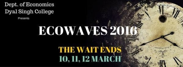 Dyal Singh College Presents Ecowave 2016 12