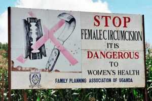Campaign_road_sign_against_female_genital_mutilation_(cropped)_2 female genital mutilation