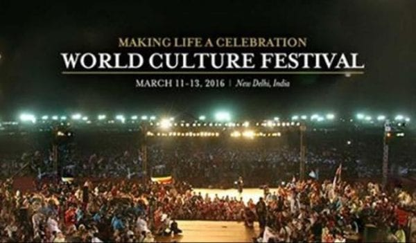 Delhi Will Host The World Culture Festival '16 world culture festival