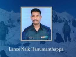 Lance Naik Hanumanthappa