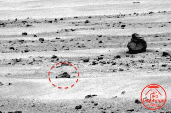 Hand Gun Found on Mars: Truth or Conspiracy Theory? 11