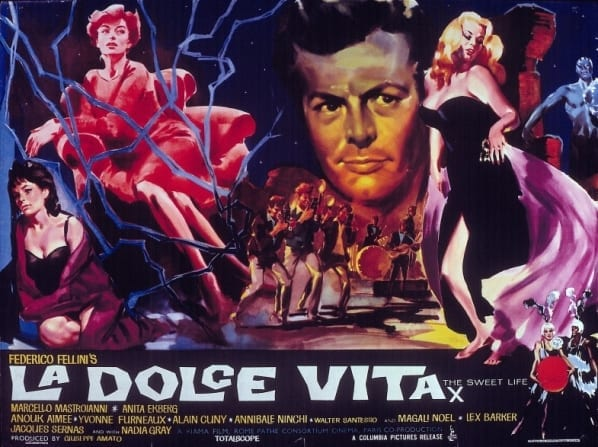 Contemplating a Good Old Italian Movie….. la dolce vita
