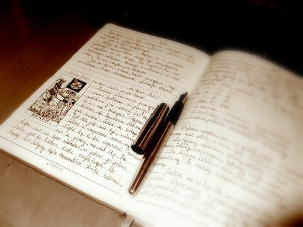 New-and-old-journal-writing