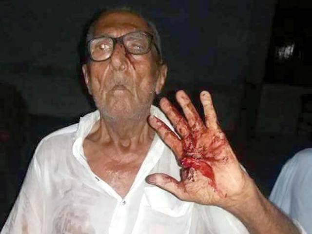 80 Year Old Man Beaten In Pakistan pakistan