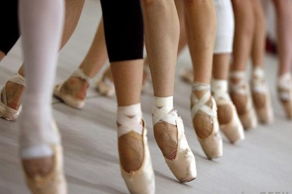 Effects Of Wearing Pointe Shoes