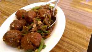 food manchurian food