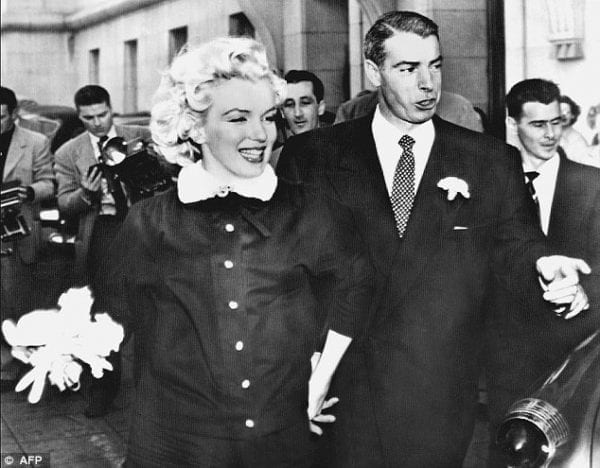 The Love Story – Joe DiMaggio's Love For Marilyn Monroe marilyn monroe